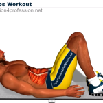 8分間連続腹筋トレーニング レベル1