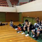 長野県成年男子バスケ群馬遠征1日目