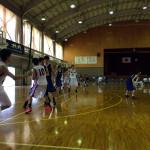 長野県成年男子バスケ群馬遠征2日目