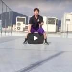 ドリブル練習動画「トス&キャッチドリブル」