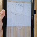 「Basketball Stat Tracker」導入でスコアブックをデジタル化