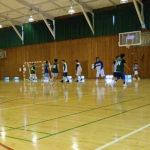 新シーズン開幕戦に向け、信州大学と練習試合
