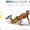 胸のトレーニング – レベル3