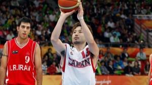 FIBAアジア選手権日本代表に田臥勇太が選出