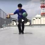 ドリブル練習動画「2ボール直進ドリブル フロントチェンジ」