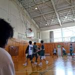 新シーズン開幕に向け、須坂創成高校と練習試合