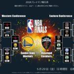 NBAファイナル2018がいよいよ開幕!楽天TVの放送スケジュールは?