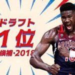 NBAドラフト2018、注目選手を動画でチェック!